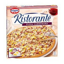 PIZZA RISTO. CARBONA 7x350