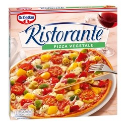 PIZZA RISTO. VEGETALE 7X350